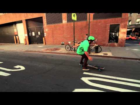 Longboarding New York & Bruno