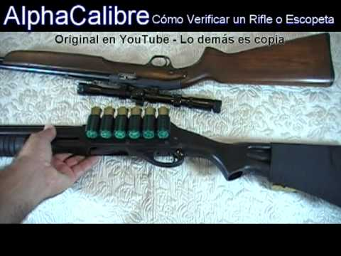 Cómo Verificar un Rifle o Escopeta