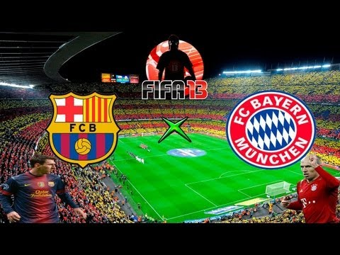 Fifa 13 - Bara x Bayern - Melhores Momentos - 01-05-13