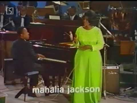 Mahalia Jackson 1967 Berlin - Come On Children Let s Sing + encores