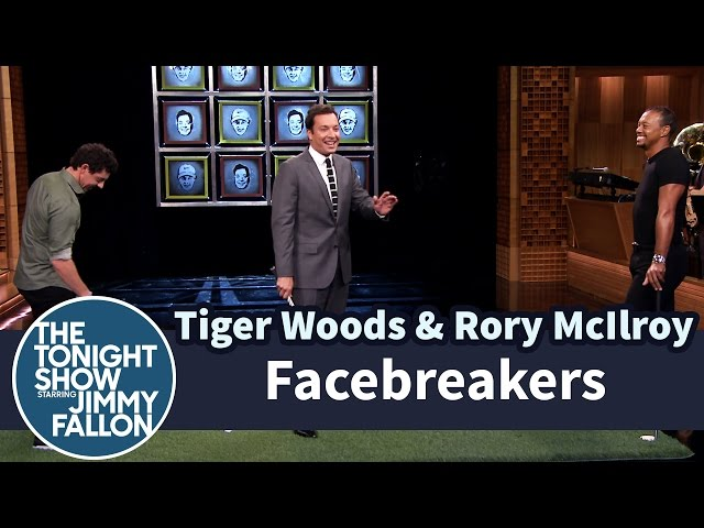 Facebreakers with Tiger Woods  Rory McIlroy