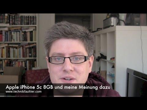 Apple iPhone 5c 8GB und meine Meinung dazu