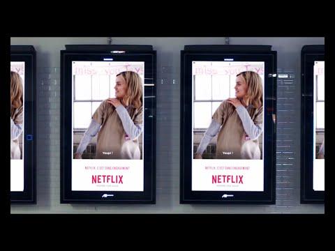 NETFLIX - Campagne de communication GIF