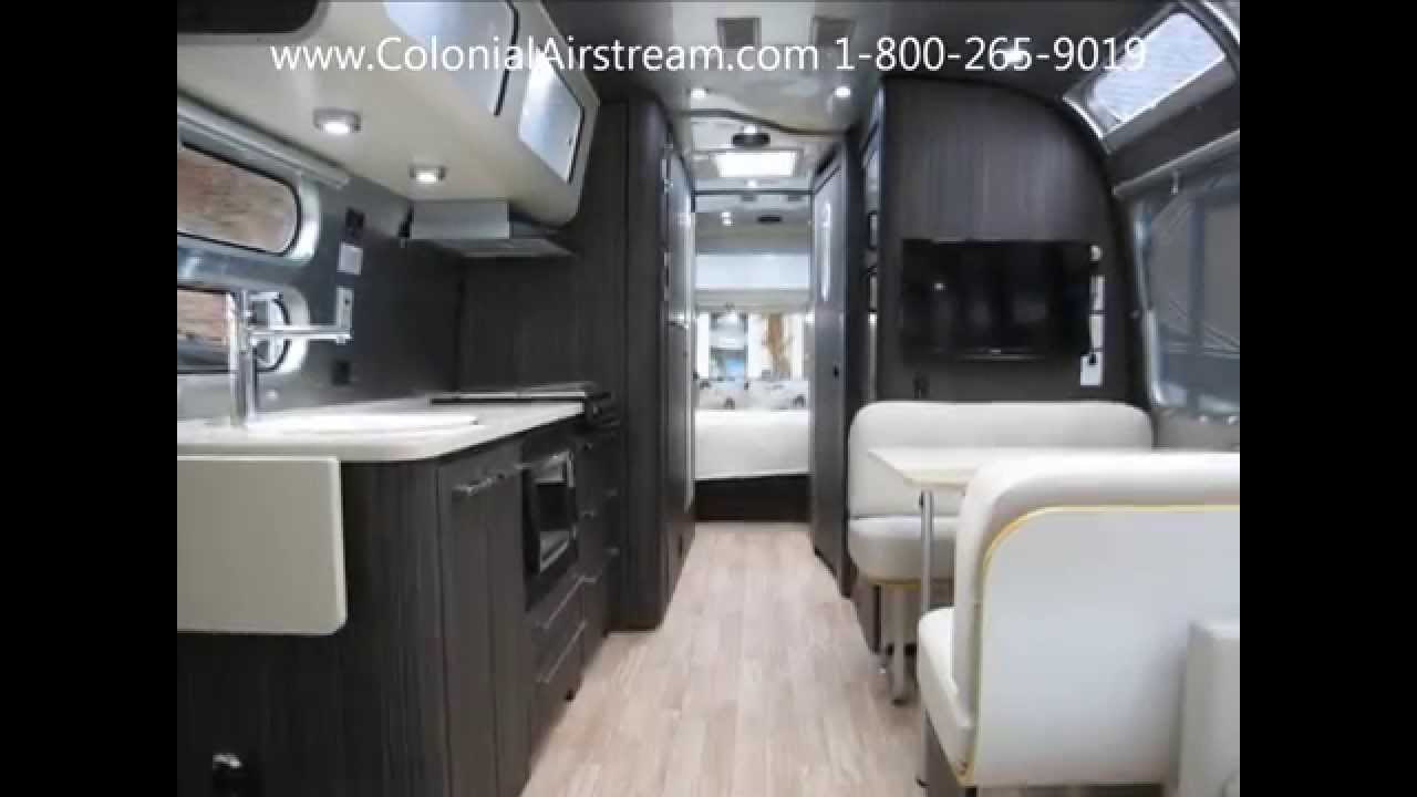 Luxury Travel Trailer RV Camper For Sale 2015 Airstream International Signature 30W - YouTube