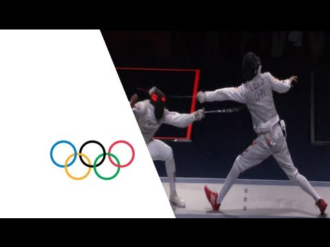 Sheng wins Men's Individual Foil Gold - London 2012 Olympics