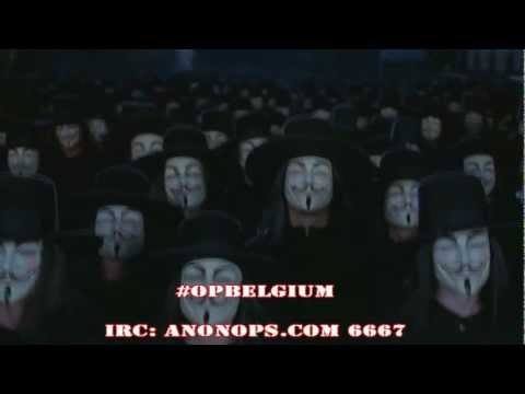 Anonymous - Arrests in Belgium [English][OFFICIAL]