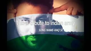 Baadshah|| INDIAN ARMY|| feat fazilpuriya|| latest tribute to indian army jai hind