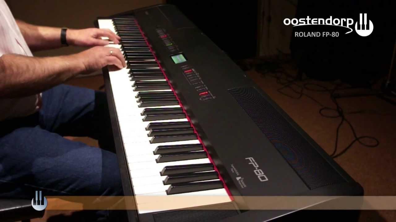 Roland Piano Digitale Roland Fp-80 Digitale Piano