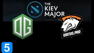 OG vs VP Game 5 Grand Final Kiev Major Highlights Dota 2