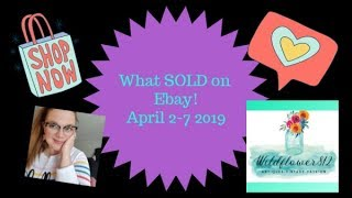 What Sold On Ebay! Reselling Clothing, Vintage, and Hard Good Online....