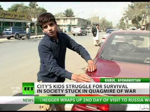 Stolen Childhood: Street kids fight to feed family in Afghan war quagmire
