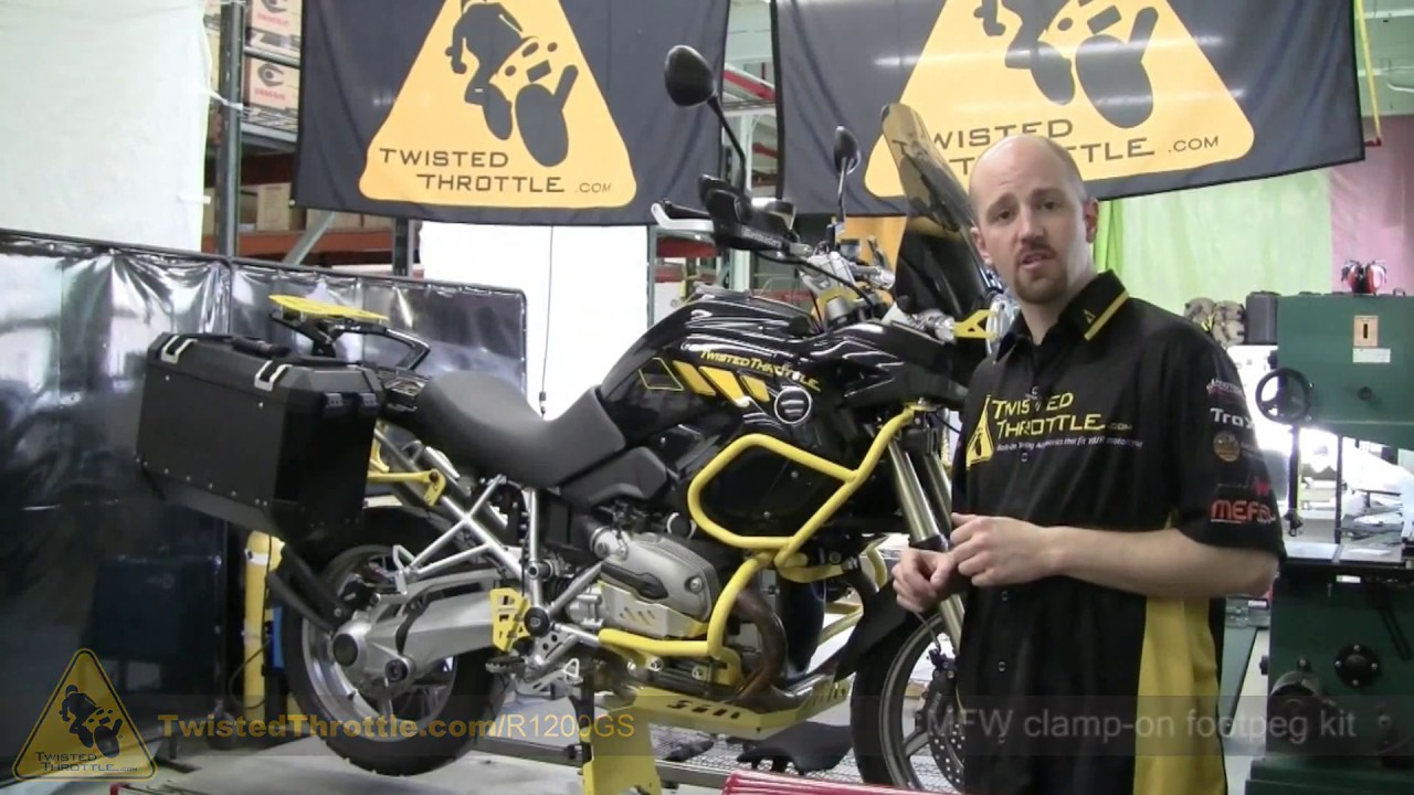 BMW R1200GS with adventure touring accessories by TwistedThrottle.com ...