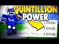I REACHED GOD STATUS *QUINTILLION POWER* | Super Power Training Simulator (ROBLOX)