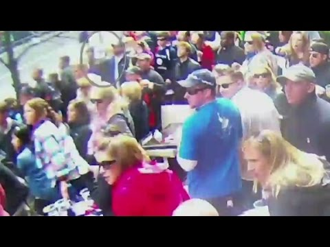 Newly-released video of Boston Marathon bombing