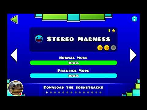 MADE IT FIRST TRY!!! Geometry dash lite game