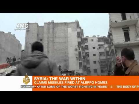 Activists say Aleppo airstrike kills 16