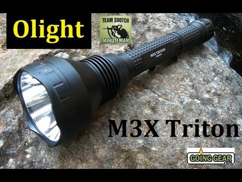 Olight M3X XM-L2 LED 1000 Lumen Flashlight Review