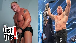 6 records set by Brock Lesnar WWE List This