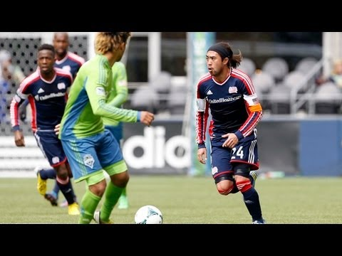 HIGHLIGHTS: Seattle Sounders FC vs New England Revolution, April 13, 2013