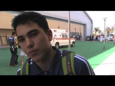 Turkmenistan v Saudi Arabia post-match Asian U20 men's Bahrain