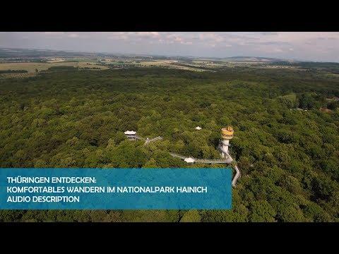 Komfortables Wandern im Nationalpark Hainich - Audio Description