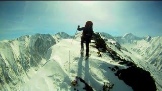 Snowshoeing & Mountaineering - Fagaras Mountains - Zanoaga Dragus - GoPro HD
