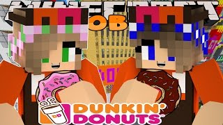Minecraft Jobs : Little Kelly Adventures - WORKING AT DUNKIN