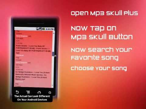 Mp3 Skull Plus Android App Tutorial How To Use