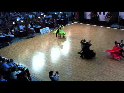 Tango, WDSF Youth Ten Dance European Championship.MOV