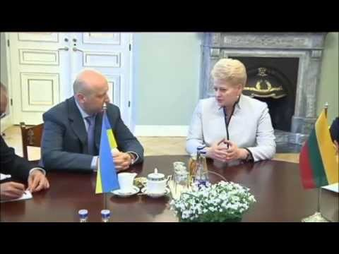 Kremlin Blamed for Grybauskaite EU Smear Campaign: Lithuanian President is outspoken Putin critic