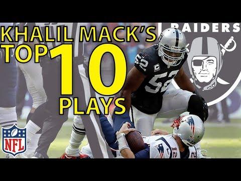 Khalil Macks Top 10 Highlights from the 2017 Season  NFL