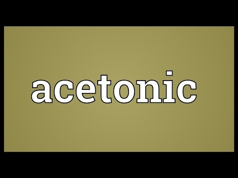 Header of acetonic