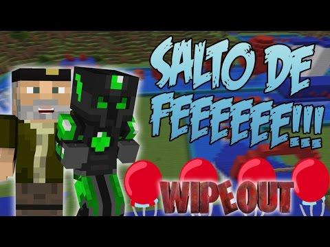 SALTO DE FEEEEEEEEE!! - CARRERA WIPEOUT C/ WILLYREX - MINECRAFT - sTaXxCraft