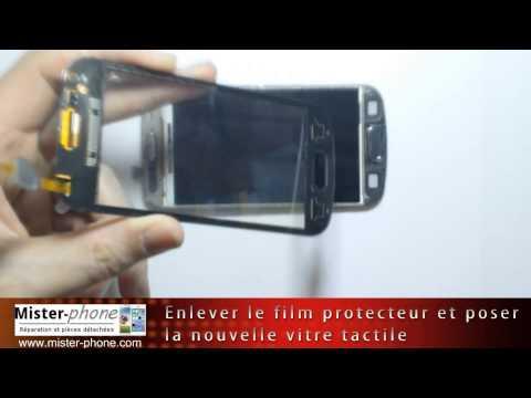 Samsung Galaxy Trend S7560 changer ecran LCD vitre tactile Tutoriel HD 1080p