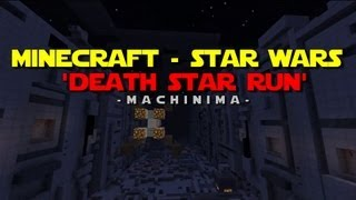 La destrucción del Death Star recreada en Minecraft
