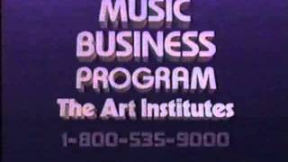 Art Institute Music Program Commercial July 1988