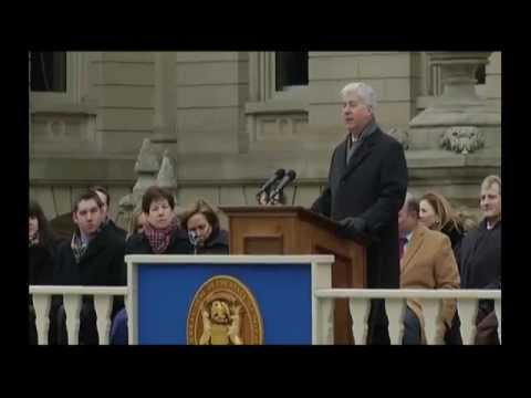 Gov. Rick Snyder inauguration for second term