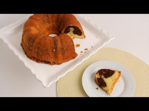 Marble Cake Recipe - Laura Vitale - Laura in the Kitchen Episode 562