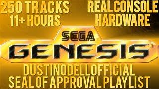11+ HOURS OF SEGA GENESIS MUSIC - 250 TRACKS - DUSTINODELLOFFICIAL 250th VIDEO 5K SUBS SPECIAL!