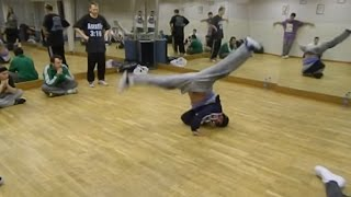 B-boy Storm - windmill tutorial/nauka barów
