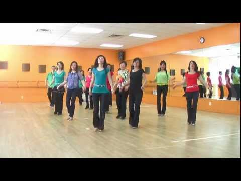 City Boy Waltz - Line Dance (dance & Teach In English & 中文) video