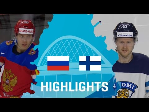 Russia - Finland | Highlights | #IIHFWorlds 2017