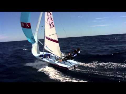 Giulia Conti e Giovanna Micol (470 donne) - Getting ready for the Olympics