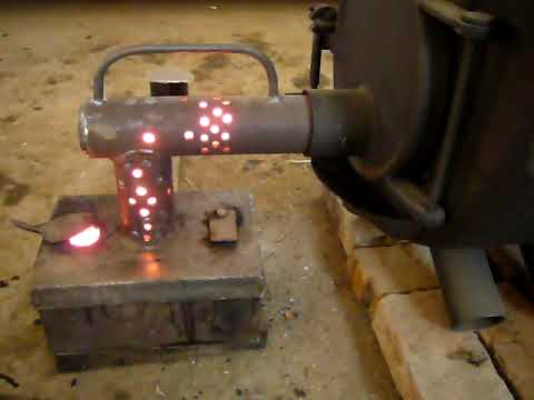 Печка на дровах для гаражей своими руками
