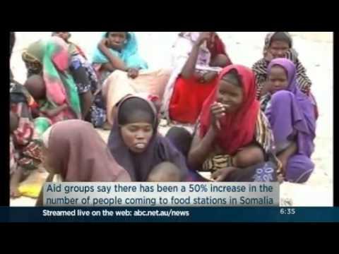Humanitarian crisis worsening in Somalia