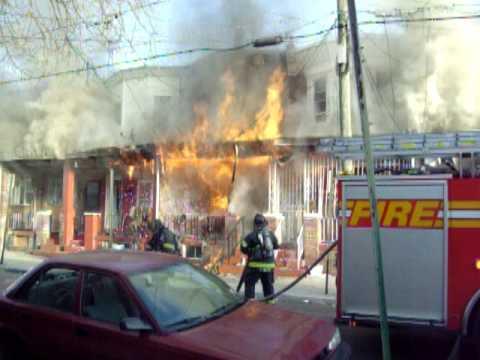 Dwelling Fire, Camden NJ