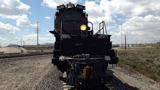 Steam Update: Locomotive No. 4014 Front Engine Walk Along