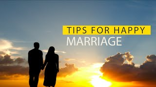 Tips For A Happy Marriage┇Funny