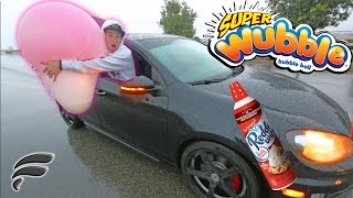 WHIP CREAM FILLED WUBBLE BUBBLE THROWN OUT CAR!