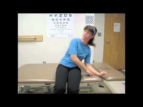 brandt-daroff habituation exercise - YouTube